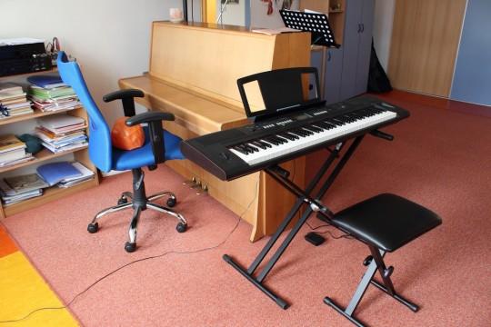 Učebny hudebního oboru