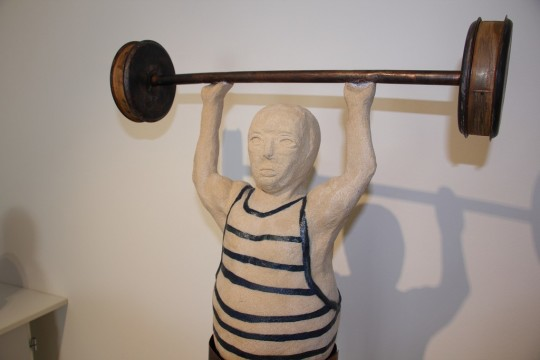 Keramická figura - výstava